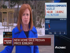 New home sales: 'A nice big beat'
