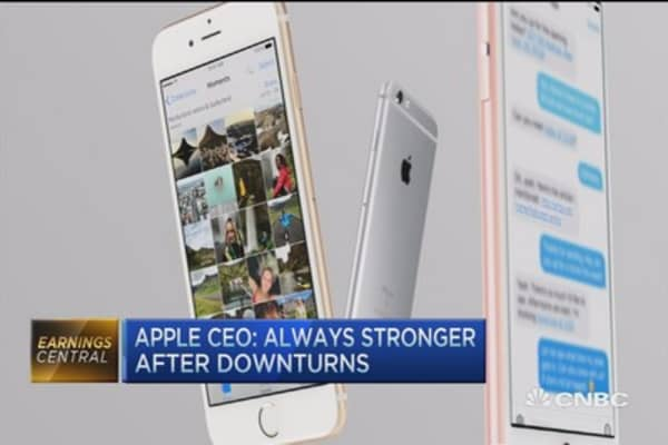Apple's negative outlook was appropriate: Munster