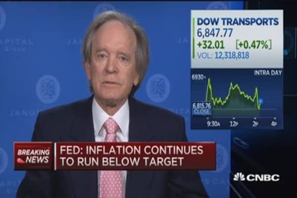 Bill Gross: US economy headed for recession