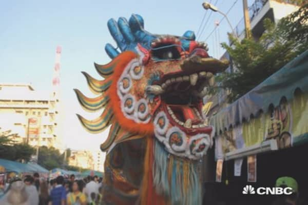 Markets nervous ahead of Chinese New Year