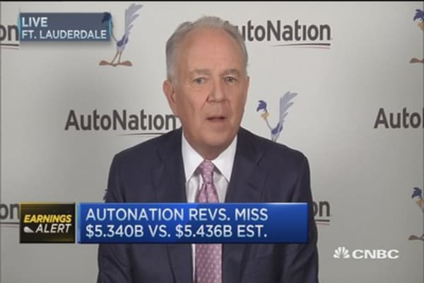 AN CEO: Auto industry's 'strategic' move to trucks