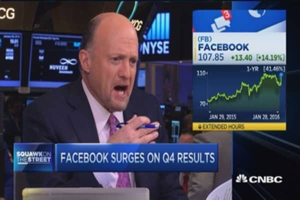 Cramer: The Fed should not listen to Facebook's call