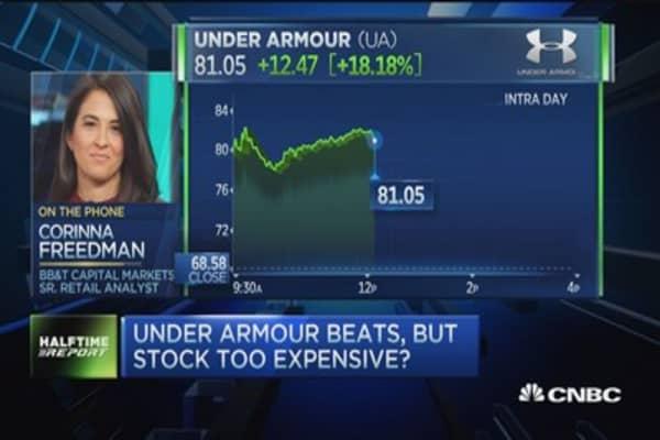 'Bearish concerns' on Under Armour stock: Analyst