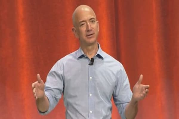 Bezos, Zuckerberg risk billions over moves in company stock