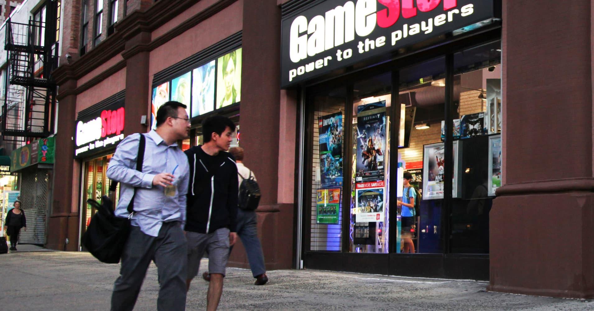 GameStop shares tank despite earnings beat