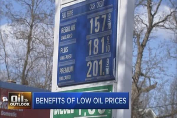 Think cheap gas isn't helping economy? Look more closely