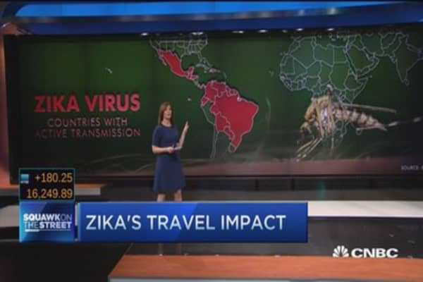 Zika's impact on airlines, cruise lines