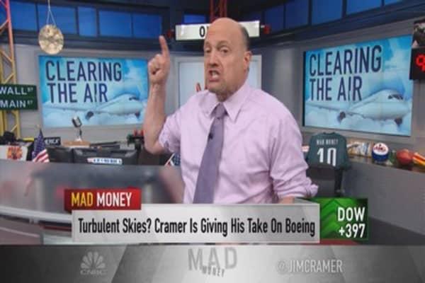 Cramer: Despite Boeing's weak guidance, aerospace 'just fine'