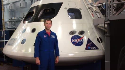 Astronaut Nick Hague