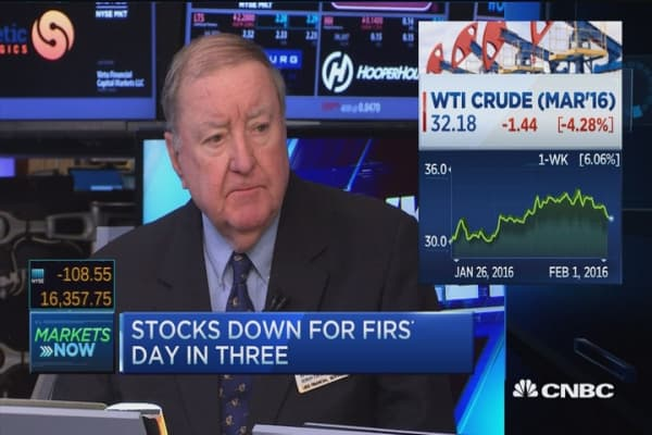 Cashin: Oil's back in focus, eye on central banks
