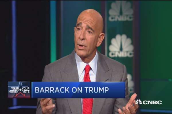 Barrack: Donald Trump can win