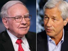 Warren Buffett and Jamie Dimon.