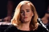 Adele performs on stage in Cologne, Germany.