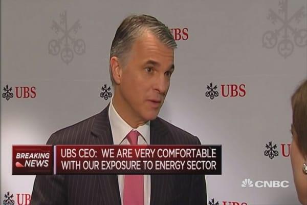 UBS reports net profit up 79%