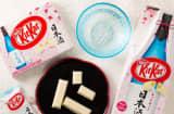 Sake-flavored KitKat Japan