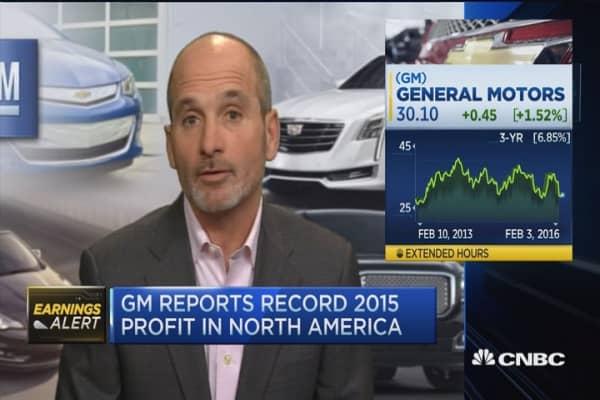 GM CFO: Where we see growth