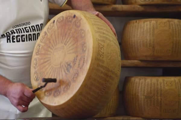 Italian cheese firm sells Parmesan-backed bond