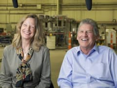 Dale 'Mac' and Denise McIntosh of Custom Powder Systems