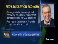 Weak data takes markets lower