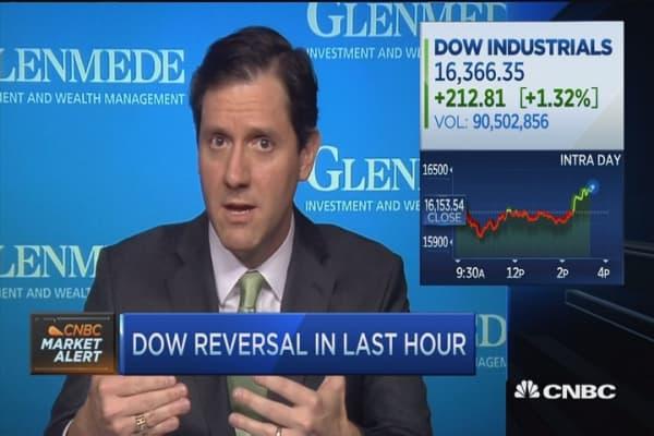 Market signaling a bottom?