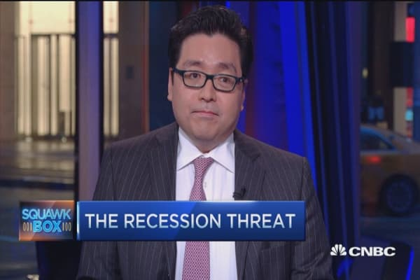 We're not headed into recession: Tom Lee