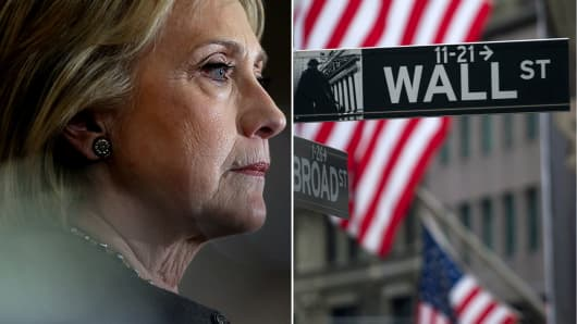 Hillary Clinton to postpone Wall Street fundraisers until after the New Hampshire primary.