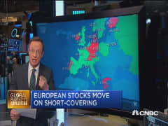 Weak dollar pummels European markets