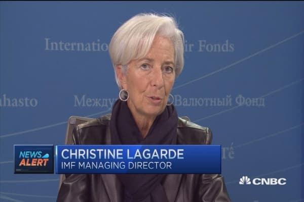 IMF's Lagarde: Do not expect China hard landing
