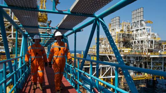 Conoco Phillips Bayu Undan Timor in Sea, Australia