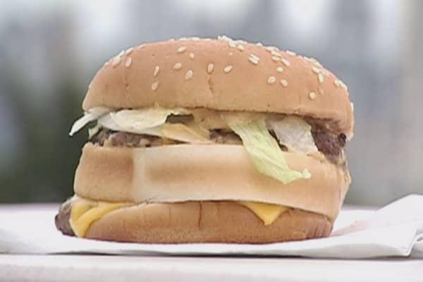 McDonald's salad has more calories than Big Mac