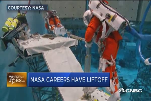 Help Wanted: NASA astronauts