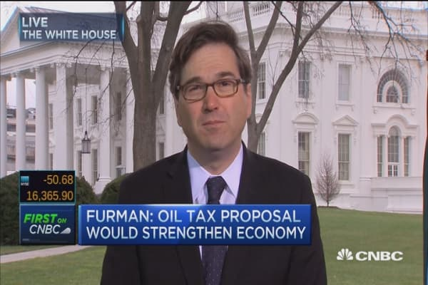 Furman: Oil tax wouldn't be on exports