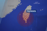A 6.4 magnitude earthquake struck Taiwan on Feb. 5, 2016.