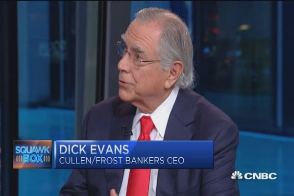 Oil won't go over $40 out to 2020: Dick Evans