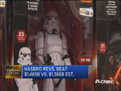 Are Hasbro's strong earnings repeatable?