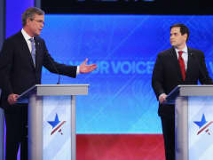 GOP debate Bush Rubio New Hampshire