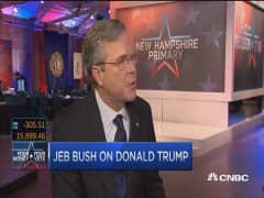 Jeb Bush hopes to challenge China