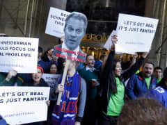 Fantasy sports protest