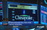 Chesapeake shares halted for news pending
