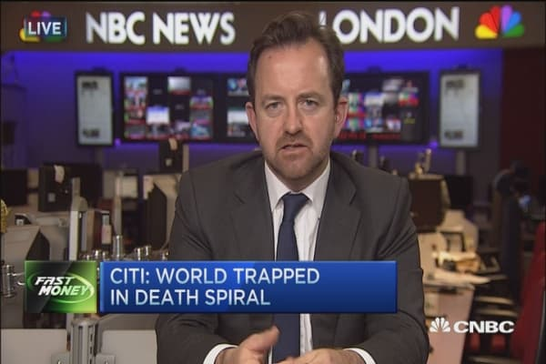 Citi: World trapped in death spital