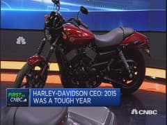 The company's never been stronger: Harley-Davidson CEO