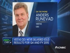 Chinese competition is limited: Vestas CEO