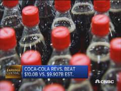 Coca-Cola's Q4 beats Street