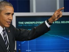 President Barack Obama discusses the latest unemployment rate within the U.S. economy in the Brady Press Briefing Room at the White House February 5, 2016 in Washington, DC. The Labor Department announced 151,000 jobs were added by U.S. employers in Januar