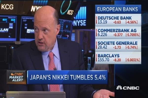Cramer: European banks have a plan