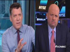 Cramer eyes Credit Suisse and Deutsche Bank