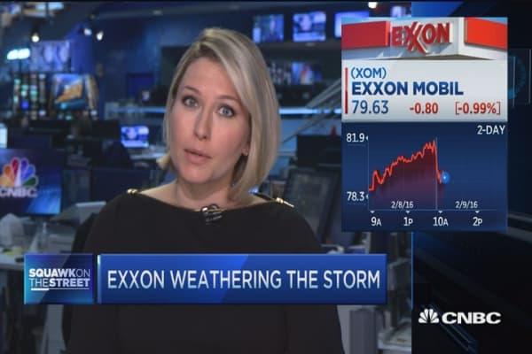 Exxon a bright spot in energy turmoil
