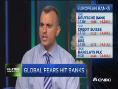 Fear hit the banks
