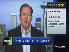 Tech sector close to bottom: Meeks