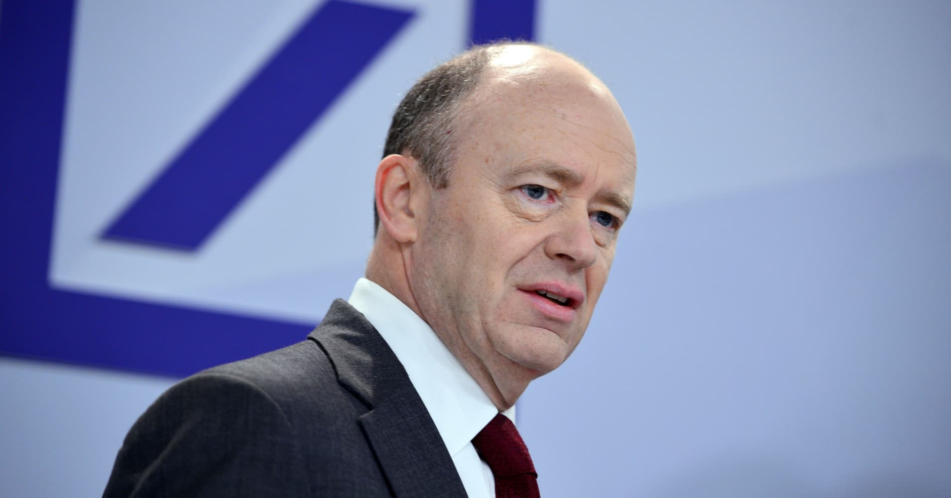 Deutsche Bank CEO says 'never say never' on capital hike